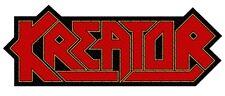 KREATOR - Patch Aufnäher Logo cutout Printed 8x4cm