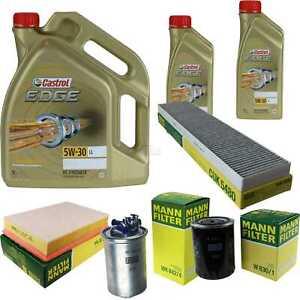 Inspektionskit-filtro-castrol-7l-aceite-5w30-para-Seat-Alhambra-concepto-7v8-7v9-1-9-TDI