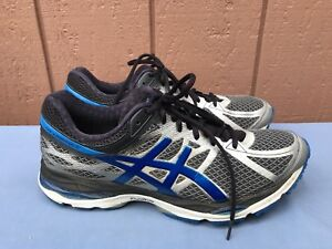 super populaire 25d6f dd774 Details about EUC MEN'S ASICS GEL CUMULUS 17 RUNNING SHOES SIZE US 11.5  BLUE SILVER T5D3N A7