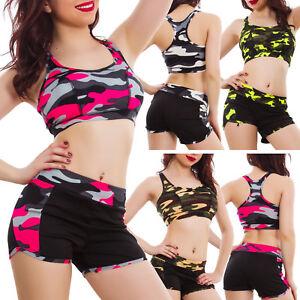 Conjunto-de-mujer-deportivo-camuflaje-top-shorts-pantalones-cortos-SM4551