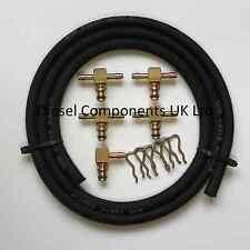 Mercedes 190 Brass Leak Off Connector Kit Bosch Diesel Injector 5 Cylinder