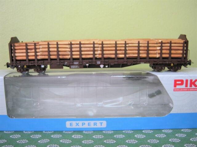 PIKO  WAGON transport de bois SNCF  HO