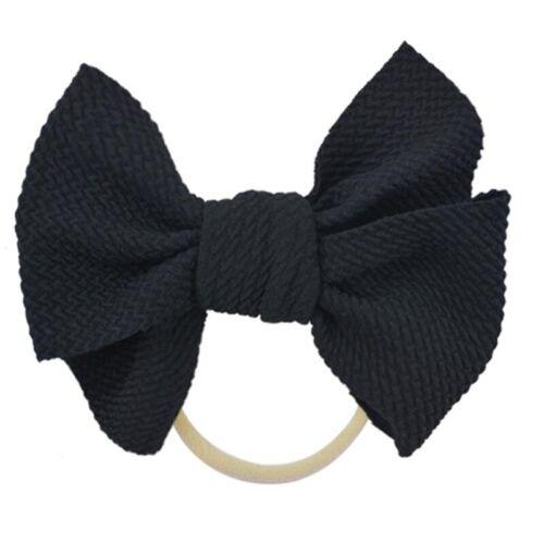 NEW Baby Toddler Kids Stretch Headband Girls Hairband Turban Bow Knot Head Wrap