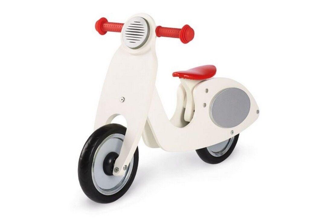 PINOLINO 239414 - Laufrad, Vespa Wanda Cremeweiß