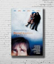 W403 Art ETERNAL SUNSHINE OF THE SPOTLESS MIND Movie Jim Carrey Poster Hot Gift