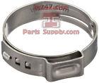 Oetiker 1-Ear 167 Stepless Stainless Steel Hose Clamp Car Boat Tubing Crimp Ring