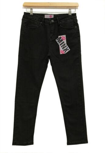 Le Ragazze Jeans SKINNY SLIM FIT BAMBINI ADOLESCENTI Pantalone Elastico Nuovo 7-13 anni