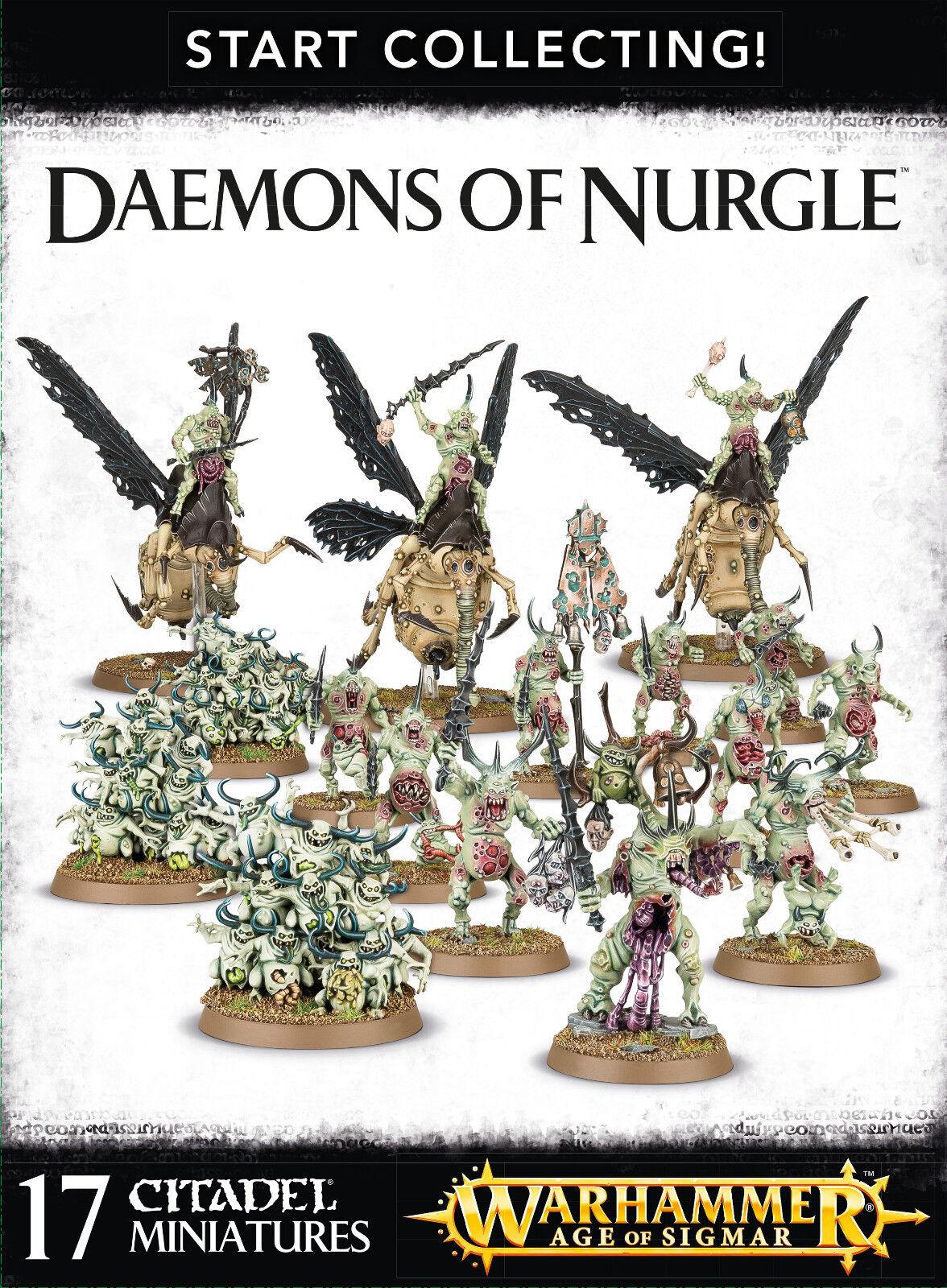 Estrellat Collecting Daemons of  Nurgle Warhammer 40k Age of Sigmar nuovo  consegna rapida