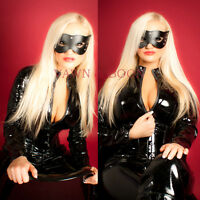 Ladies Catwoman Batman Dark Knight Rises Fancy Dress Costume Halloween Catsuit