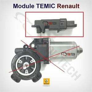 module neuf temic moteur leve vitre renault megane 2 scenic 2 clio 3 espace 4 ebay. Black Bedroom Furniture Sets. Home Design Ideas