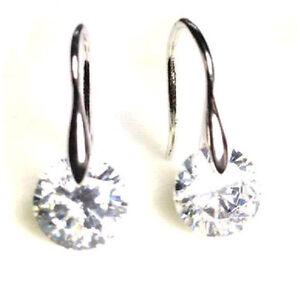 Uhren & Schmuck Sanft Ohrringe Silber 925 Silberohrringe Mit Zirkonia Ohrhänger Silber Ohrschmuck Neu Exzellente QualitäT