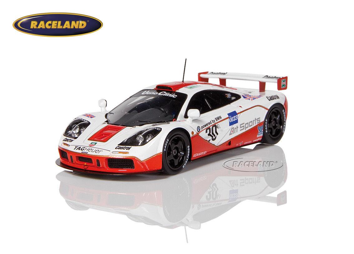 McLaren F1 GTR BMW West 4° Le Mans 1996 1996 1996 Nielsen Bscher Kox, Spark 1 43, S4405 8f39f6