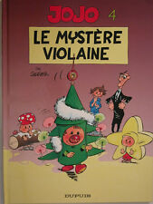 JOJO  ** TOME 4 LE MYSTERE VIOLAINE  **  REED COMME NEUF  GEERTS