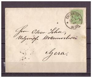 Empire-Allemand-Minr-31-Ef-Chemnitz-apres-Gera-1885