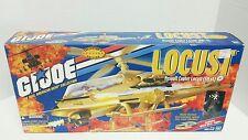GI Joe LOCUST XH-1 COPTER With WILD BILL 2000 MIB Hasbro Vehicle + Action Figure