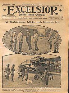 General-Joffre-amp-Nivelle-Albatros-Luftstreitkrafte-Bataille-de-Verdun-WWI-1916