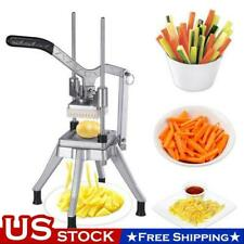 38 Blades Stainless Steel French Fry Cutter Potato Vegetable Slicer Chopper