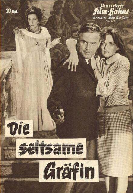 IFB 5931 | DIE SELTSAME GRÄFIN | Edgar Wallace | Marianne Hoppe, Klaus Kinski