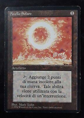 Anello Solare Sol Ring MTG MAGIC Com Commander Italian