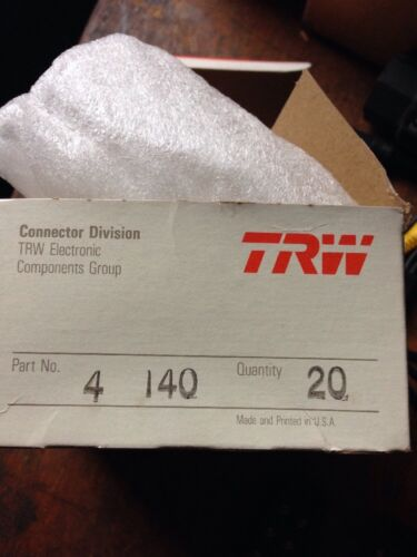 CINCH TRW 4-140 Terminal Block 20 Count Box