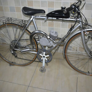 Motorised Exhaust Pipe Muffler 48cc 66cc 70cc 80cc Motorized Bicycle Bike Engine