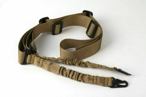 Two Point Gun Sling w// Quick Release Buckle Tactical Rifle One Single Point