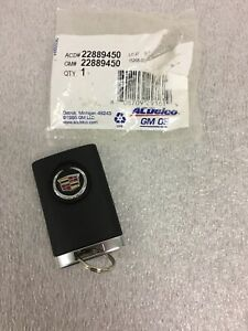 ACDelco 22889450 GM Original Equipment 4 Button Keyless Entry Remote Key Fob