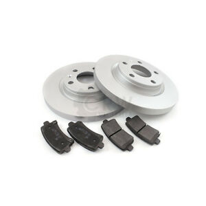 Brake Discs Pads Front Axle for Mercedes-Benz 190