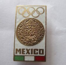 1968 MEXICO Olympics OFFICIAL GAMES PIN BADGE