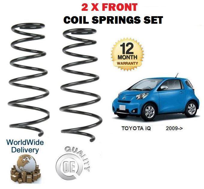 Für  Toyota Iq 1.0i 1krfe 998ccm 2008-   Neu 2x Vordere Spiralfedern Satz  online cheap