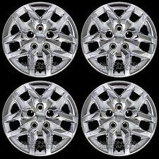 "4 New 14-16 Grand Caravan 17"" Bolt on CHROME Hub Caps Rim Covers fit Steel Wheel"