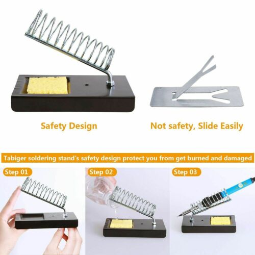 Soldering Iron Kit for Electronics 110V 60W Adjustable Control ℃ Welding Station