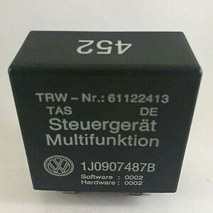Audi-VW-Black-452-Steuergerat-Multifunktion-Relay-Module-1J0907487B-61122413