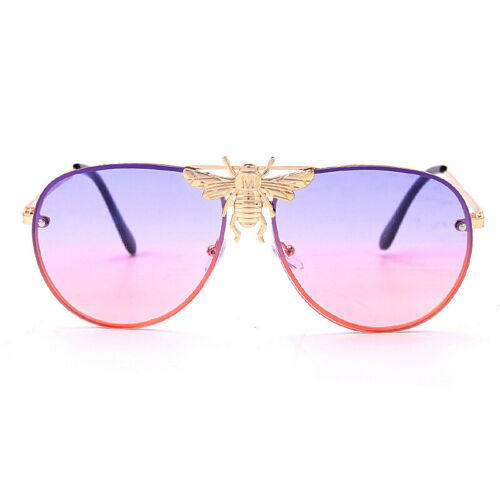 Classic Luxury Bee Sunglasses For Women Vintage Gradient Sun Glasses Men Shades