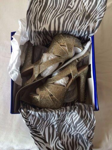 Pink /& Pepper Libra  Gold women/'s shoes NEW