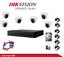 miniatuur 1 - KIT TELECAMERE VIDEOSORVEGLIANZA AHD HIKVISION 1080P 8 CANALI+ 6CAM + HARD DISK