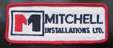 MITCHELL INSTALLATION EMBROIDERED SEW ON PATCH CONTRACTOR FABRICATION CANADA