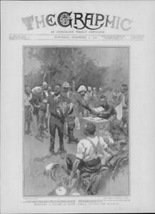 1901-Antique-Print-AFRICA-Refitting-Column-New-Clothing-Soldiers-183