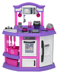 american plastic toys bakers kitchen playset - Kitchen Playset