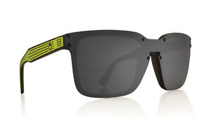8cda01f1611d Image is loading Dragon-Mansfield-Sunglasses-Lime-Frame-with-Grey-Gray-