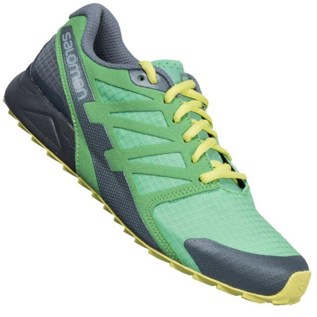 tout neuf 187b8 ad873 Running Shoes Road Salomon City cross W, Ladies, Green, EAN 0887850488932