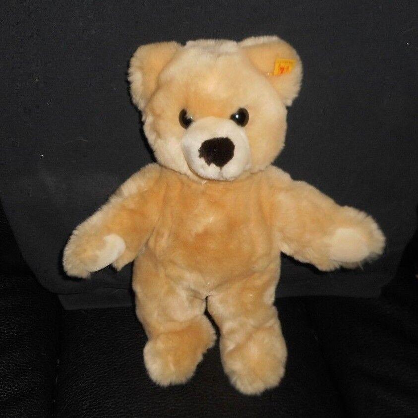 12.5  STEIFF MOLLY 0321/32 TAN TEDDY BEAR WEST GERMANY STUFFED ANIMAL PLUSH TOY