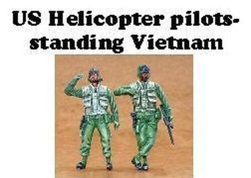 Czech Master 1//35 2 x EU Helicóptero pilotos Vietnam vertical # F35183