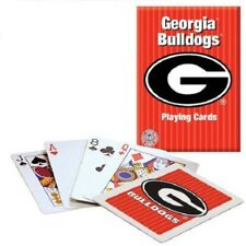 Item 5 New Sealed Officially Licensed NCAA UGA GA Georgia Bulldogs Playing  Cards  New Sealed Officially Licensed NCAA UGA GA Georgia Bulldogs Playing  Cards