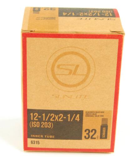 Schrader Valve Kenda Bicycle Inner Tube 12-1//2 x 2-1//4