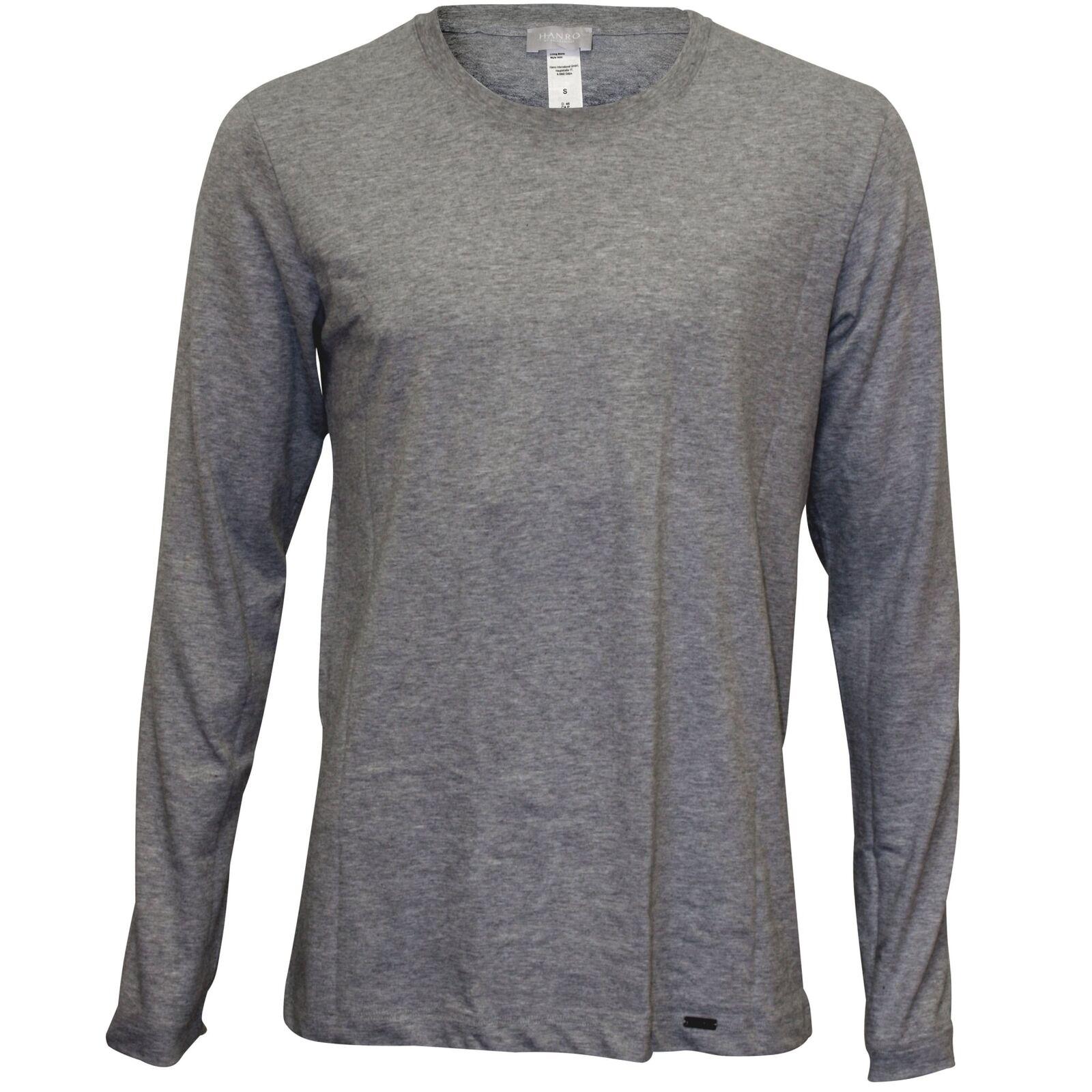 Living Jersey Long-Sleeve T-Shirt, Grau Melange