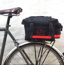 NEW Carradice Super C Cotton Canvas Bicycle Rack Bag - TOUR AUDAX Commute