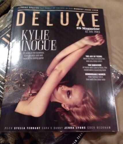 Kylie Minogue Deluxe ES Magazine /& Coco Beckham Jenna Lyons 12//09//2014