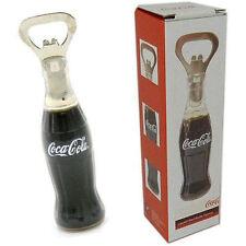 Coca Cola: 10.2cm Rellenos De Líquido Abrelatas Botella & Oficial En Imagen Caja