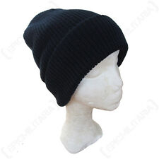 NAVY BLUE MILITARY WATCH CAP WINTER BEANIE/BOBBLE HAT